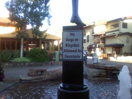 No no no. No fun in Vail.