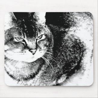 Cat Mousepad mousepad