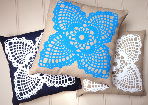 doily pillows