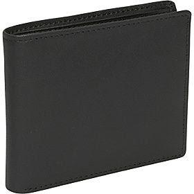 Royce Leather RFID Blocking Bifold w/ Double ID Flap