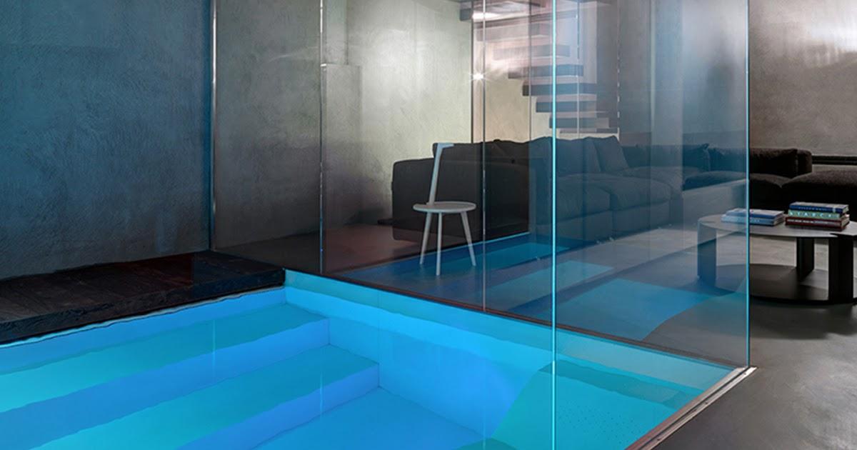 Buratti architetti adds underground swimming pool to italian house d coration de la maison - Maison am sanson architetti ...