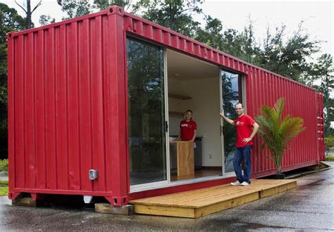 simple shipping container home modern modular home