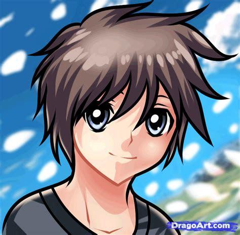 draw  anime boy  kids step  step people