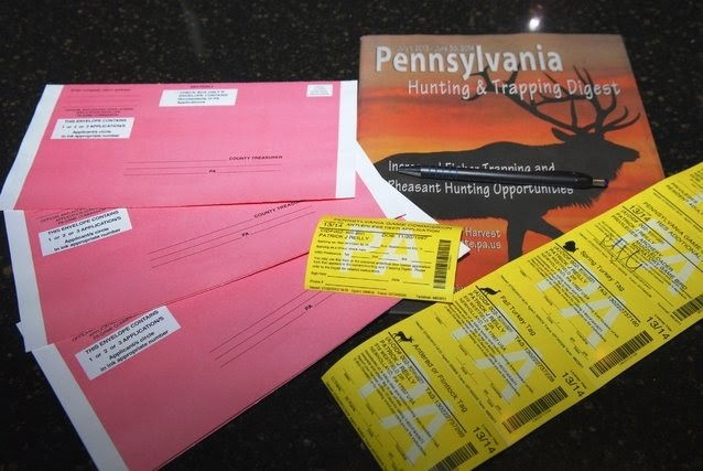 Full o 39 bull gazette pa doe license application schedule for Pa out of state fishing license