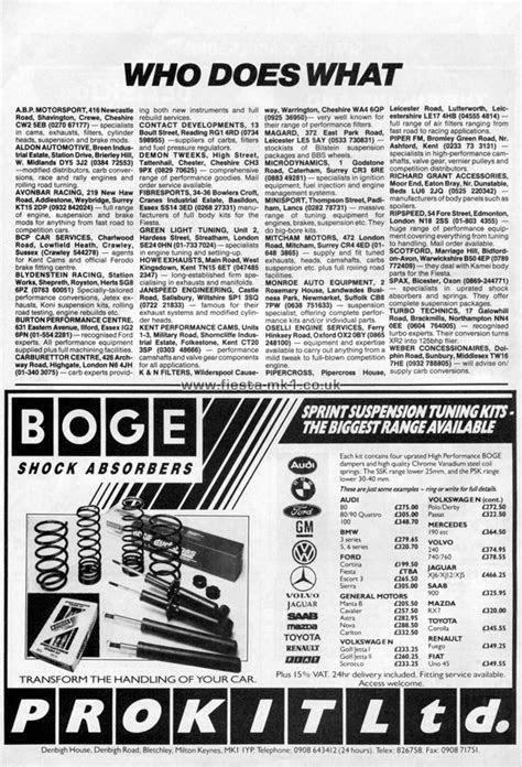 Ford Fiesta MK1 » Magazine Articles DE » Car Mechanics