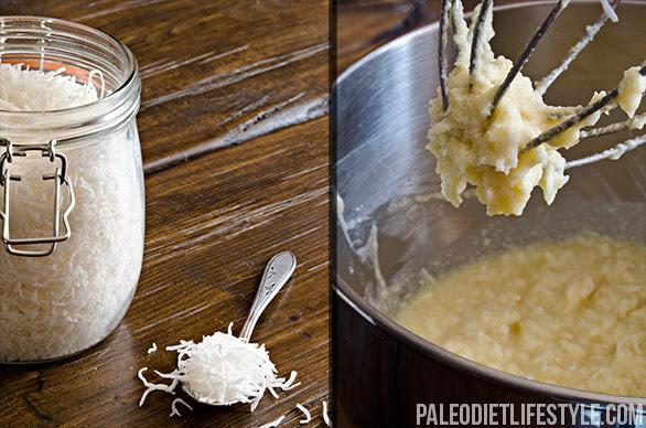 Coconut square preparation