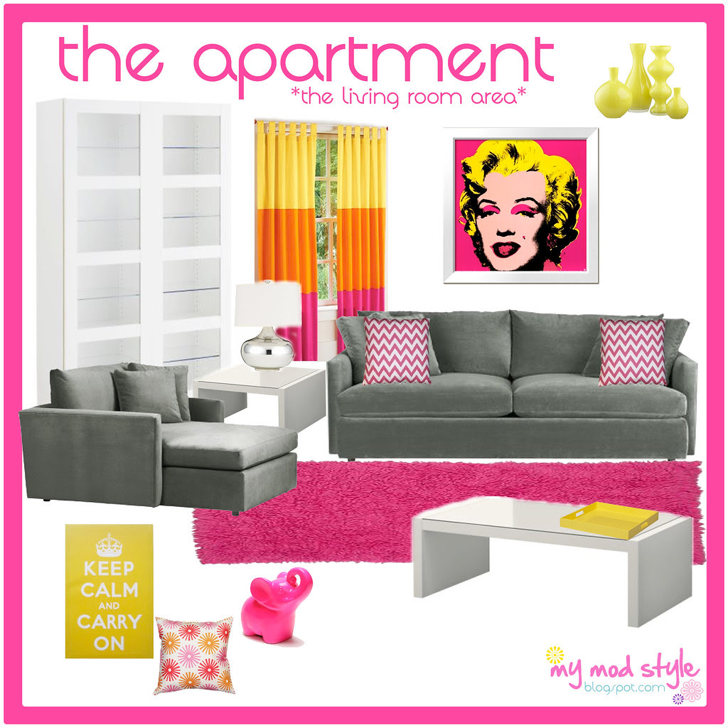 My Apartment Design Board #1 / Living Room
