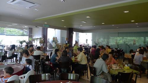 Organic Recipe restaurant interior 1
