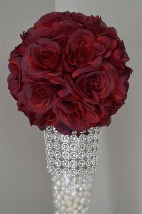 SANGRIA Flower ball, WEDDING CENTERPIECE, wedding pomander