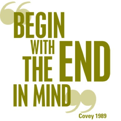 Begin With The End In Mind Qnet Business