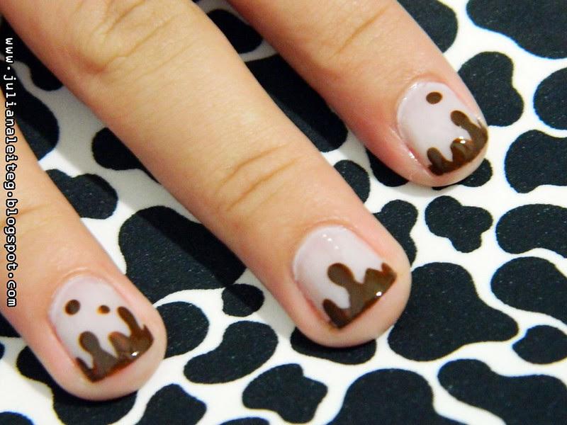 juliana leite unhas chocolate pascoa derretendo criative nailart 001