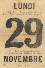 29 nov lundi