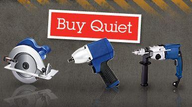 Buy Quiet power tools