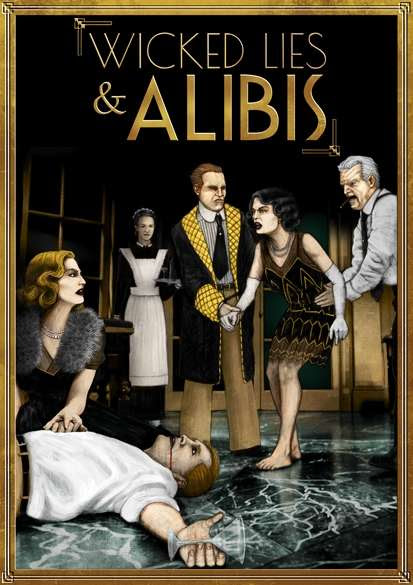 Wicked Lies & Alibis Cover