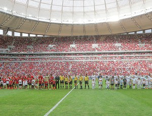 Santos x Flamengo - Estádio Mané Garrincha (Foto: Lula Marques / Secopa-DF)
