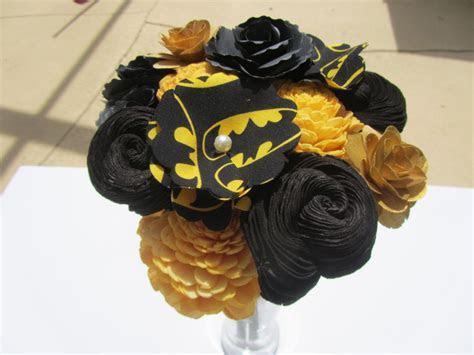 Batman Flower Bouquet   DC Comic Book Wedding, Girlfriend