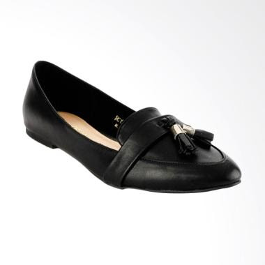 NICHOLAS EDISON Sabina Flat Shoes Wanita - Black aa5719f779
