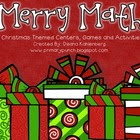 Merry Math {8 Christmas Themed Math Centers}