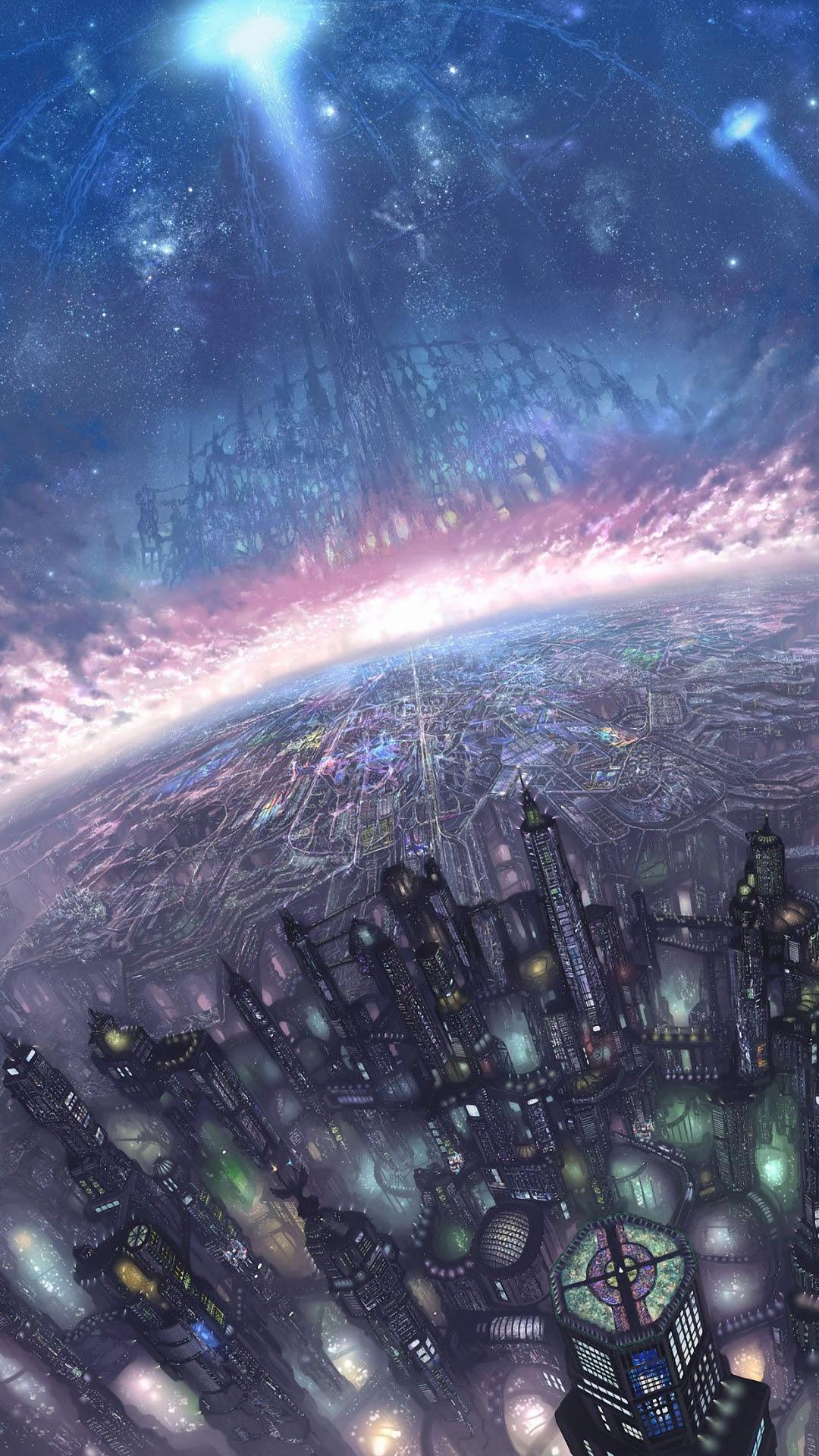 iPhone Space Wallpaper | PixelsTalk.Net