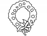 Corona Dell Avvento Da Stampare E Colorare Corona Disegno Da