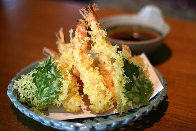 Tenpura Moriawase - Assorted Tempura (Prawn and Vegetable)