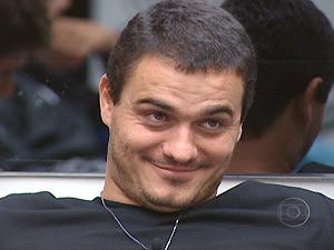 O carioca Rafa, eliminado do BBB12 (Foto: Reprodução/TV Globo)