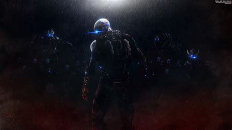 wallpaper mass effect ascension commander shepard