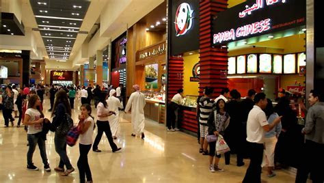 The Dubai Mall Food Court 9 12 2011   YouTube