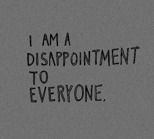 Pictures Of Disappointment In Myself Quotes Kidskunstinfo