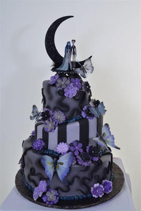 2014 Diy Nightmare Before Christmas Wedding Cakes