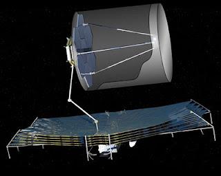Ilustración telescopio ATLAS
