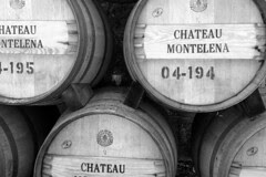 Chateau Montelena Winery - Wine Barrels