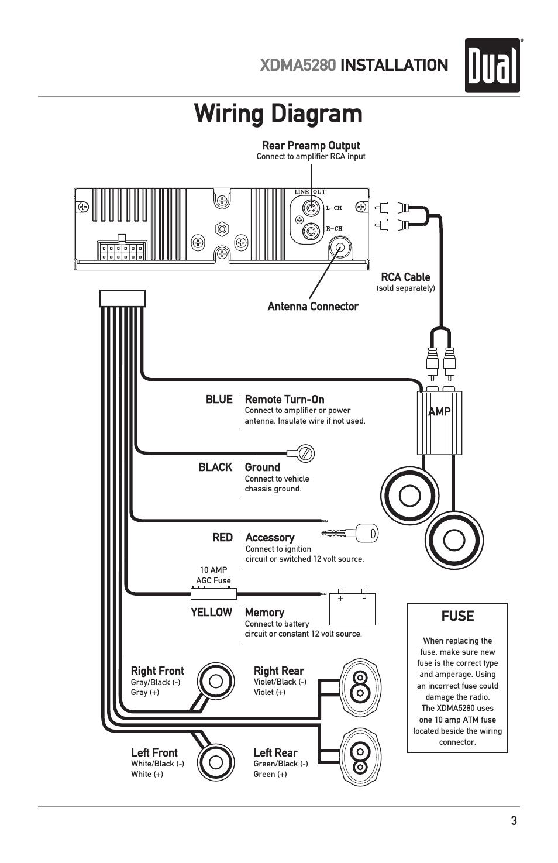 Sub Amp Wiring Diagram Remote