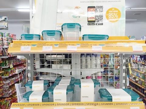 Toples Vakum Eksklusif Alfamart, Solusi Menyimpan Makanan