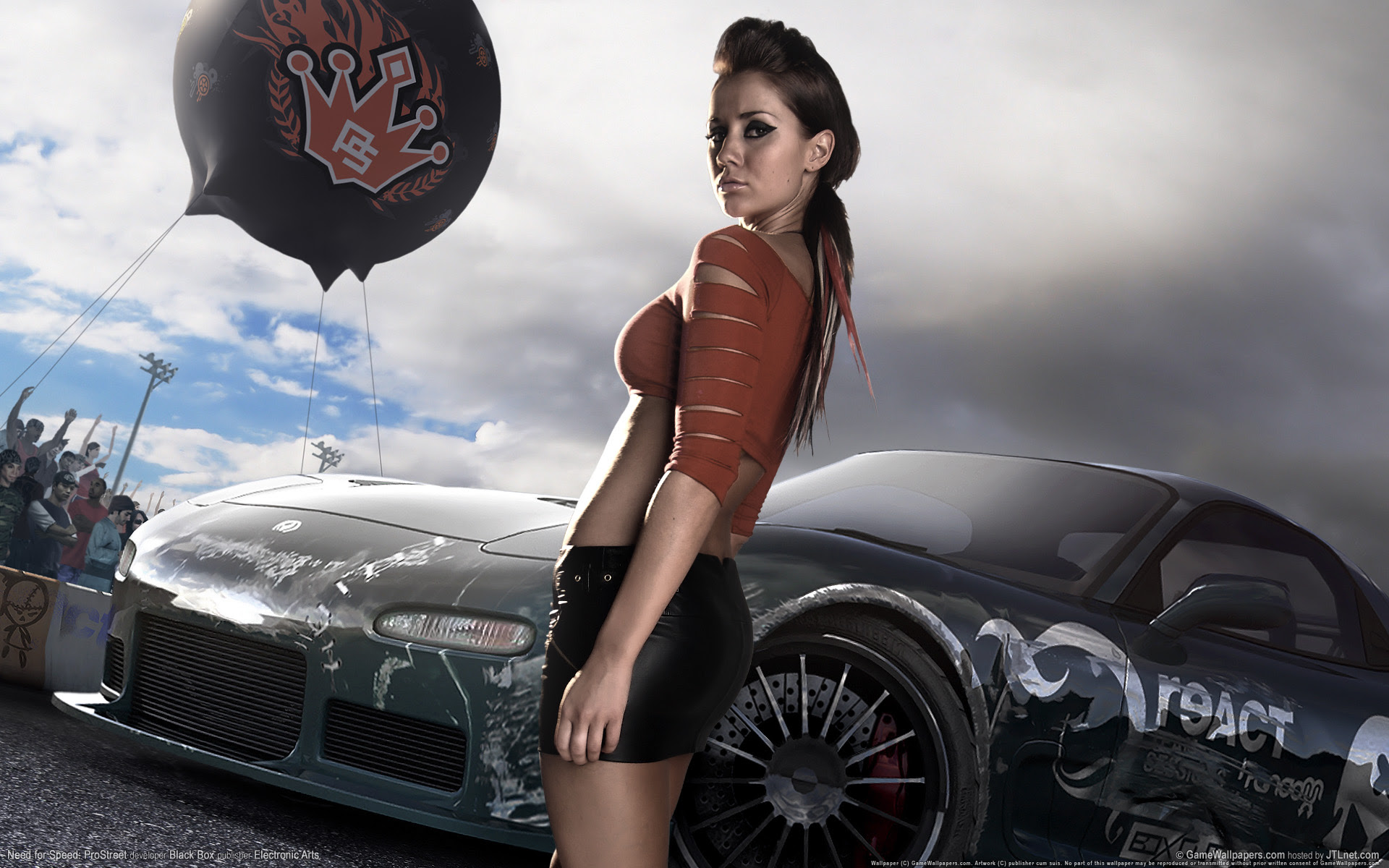 Need For Speed Prostreet Girl 2 Wallpapers Wallpapers Hd