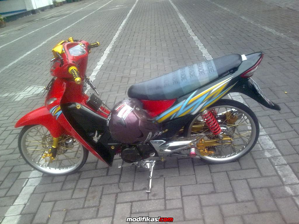 Modifikasi Motor Honda Fit Z Kumpulan Modifikasi Motor Scoopy Terbaru