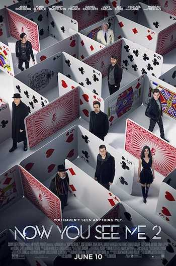Now You See Me 2 (2016) Dual Audio Hindi 720p BluRay 1.1GB