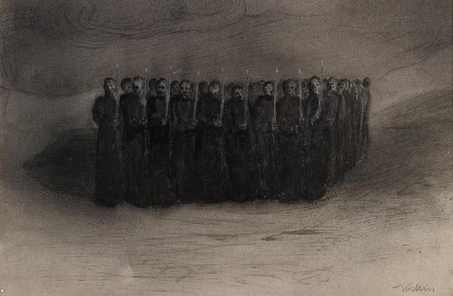Alfred Kubin - Black Mass, 1905