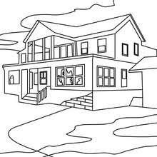 Dibujos Para Colorear Casa Encantada 14 Imágenes De Halloween Para