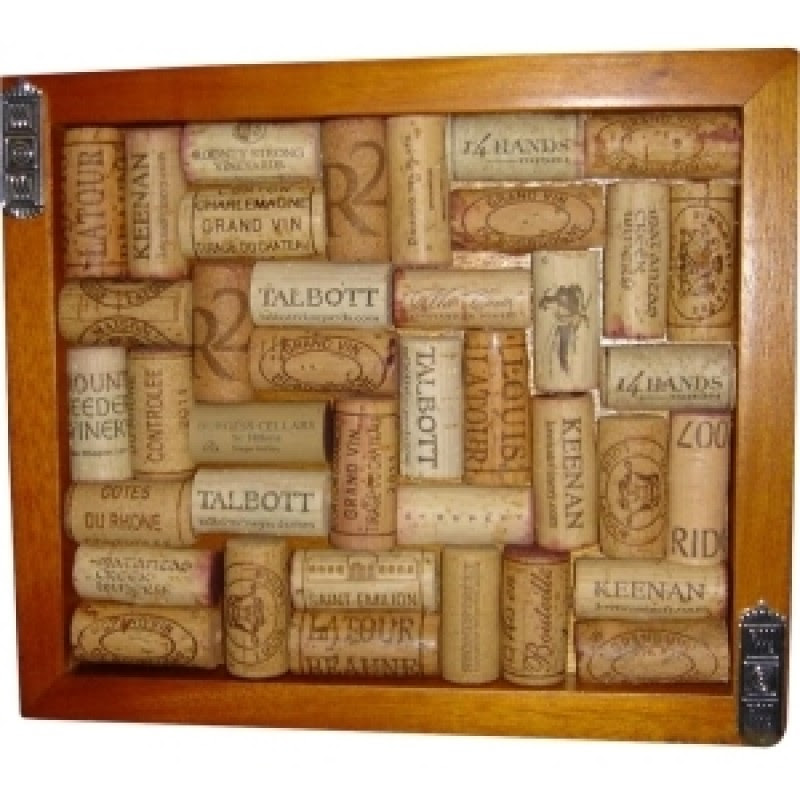 Wine Enthusiast Wine Cork Trivet Kit Trivet