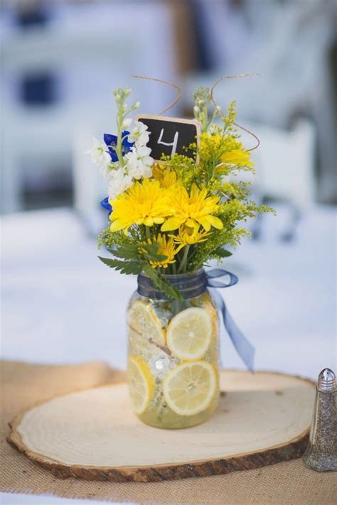 25  best ideas about Navy yellow weddings on Pinterest