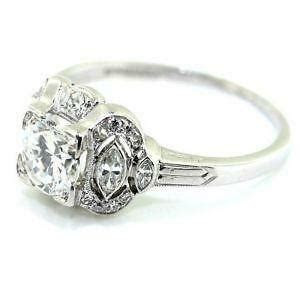 Art Deco Engagement Ring   eBay