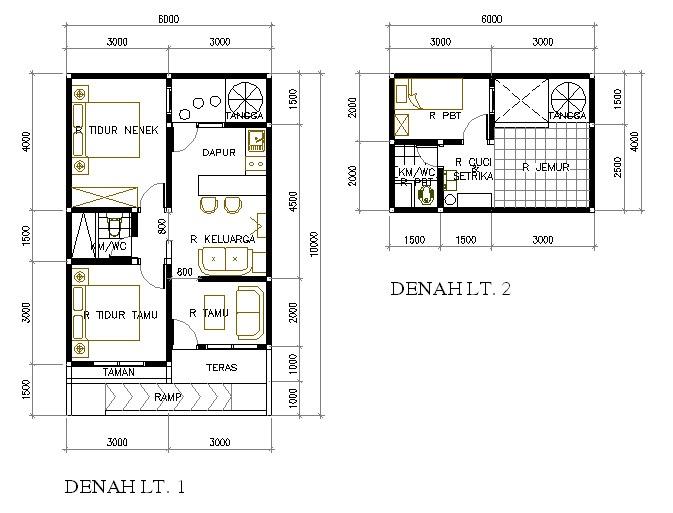 Desain Rumah Mungil Nan Asri