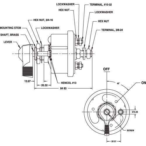 Battery Master Switch Wiring Diagram