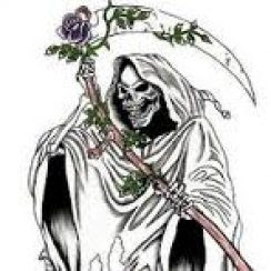 Imágenes De La Santa Muerte Dibujadas Imágenes De La Santa Muerte