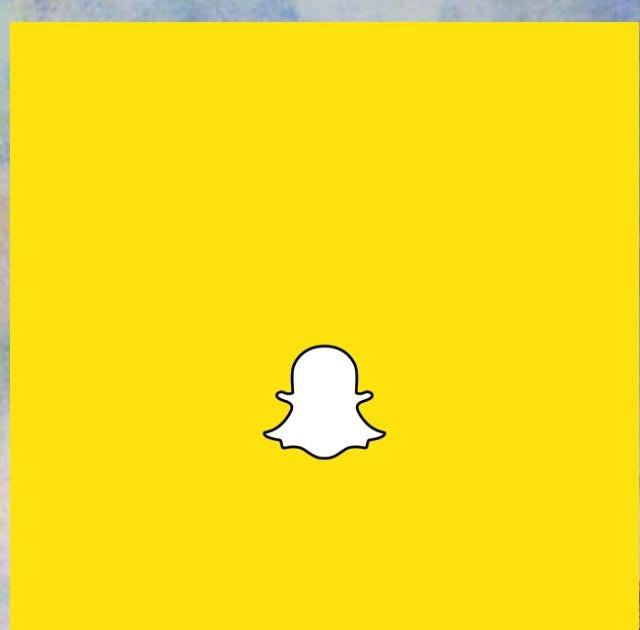 Snapchat Icon Aesthetic Pastel Yellow