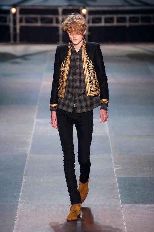 derriuspierre:  Paris Fashion Week: Saint Laurent Fall/Winter 2013