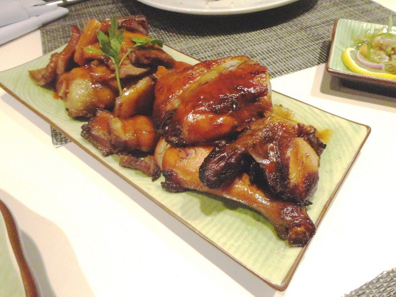 Chicken Inasal and Pork Humba