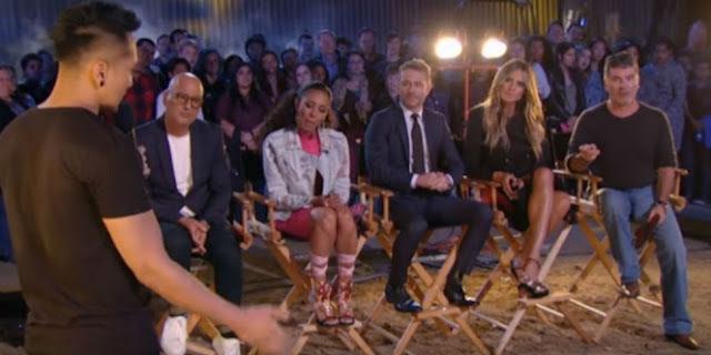 Apa Aksi Demian Bikin Panik Juri America's Got Talent ? Ternyata Ini Aksi Pesulap Ganteng ini