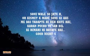 27 Selected Good Night Sms In Hindi Hindi Good Night Messages